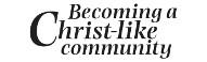 Becoming a Christ-like community